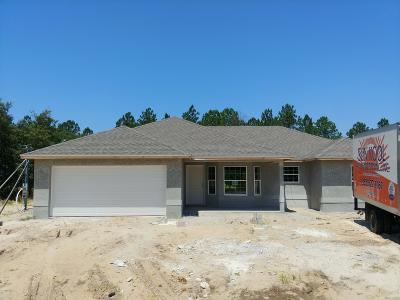 Ocala Single Family Home For Sale: 26 Ash Rd Road