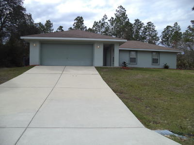 Ocala Single Family Home For Sale: 12920 SW 83rd Terrace Rd