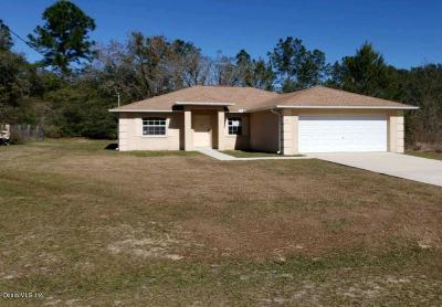 Ocklawaha Single Family Home Pending-Continue to Show: 43 Fisher Pass