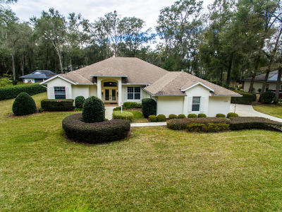 Dunnellon Single Family Home For Sale: 19140 SW 98th Loop