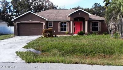 Ocala FL Single Family Home For Auction: $186,500