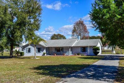 Lady Lake Single Family Home For Sale: 40200 Gator Lake Road