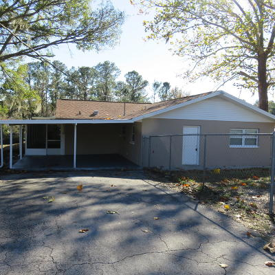 Levy County Single Family Home For Sale: 11880 SE 196th St.