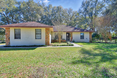Ocala Single Family Home For Sale: 10 Carry Back Road
