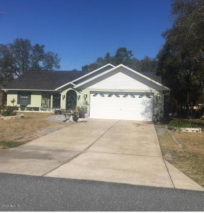 Marion Oaks North, Marion Oaks Rnc, Marion Oaks South Single Family Home For Sale: 13624 SW 40th Ave Road