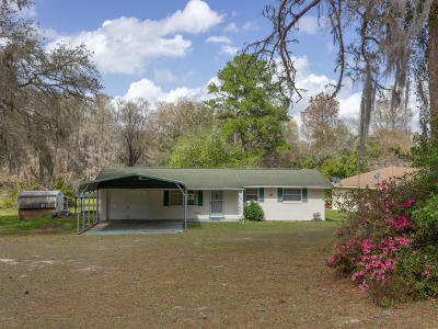 Dunnellon Single Family Home For Sale: 2829 W Cypress Drive