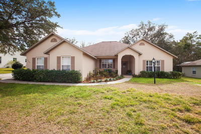 Ocala Single Family Home For Sale: 5160 SW 111th Lane Road