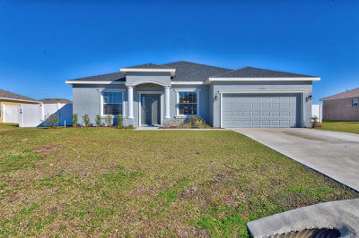 Meadow Glenn Single Family Home For Sale: 9893 SW 52nd Court