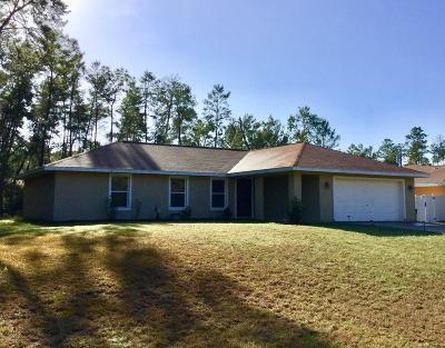 Single Family Home For Sale: 611 Marion Oaks Lane