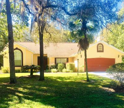 Dunnellon Single Family Home For Sale: 9680 SW 194 Circle