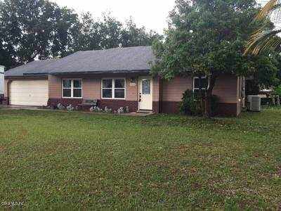 Belleview Single Family Home For Sale: 9665 SE 121st Place