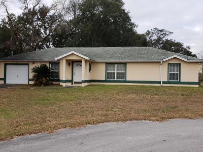 Ocala Single Family Home For Sale: 9 Pine Circle Run