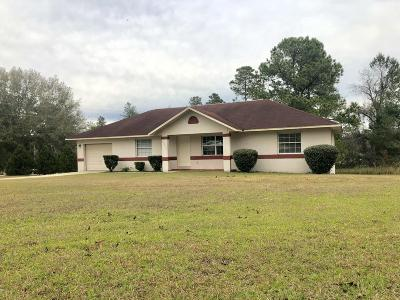 Marion Oaks North, Marion Oaks South, Marion Oaks Rnc Single Family Home For Sale: 15275 SW 47th Terrace