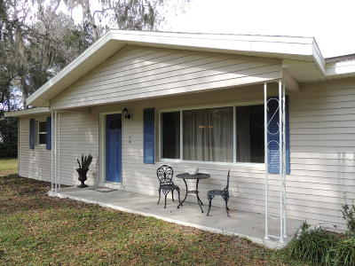 Williston FL Single Family Home Pending-Continue to Show: $155,000