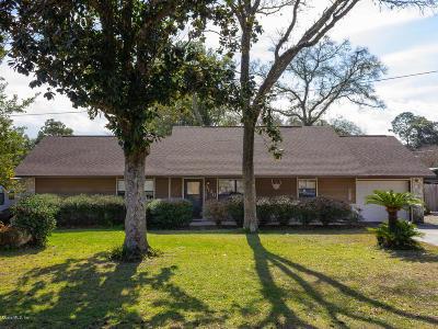 Ocala Single Family Home For Sale: 3120 NE 45th Street
