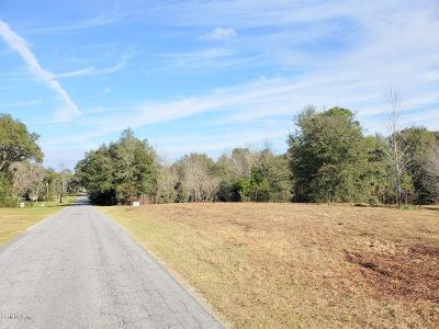 Citra Residential Lots & Land For Sale: 0.84ac NE 19th Court
