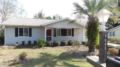 Ocala FL Single Family Home For Sale: $105,000