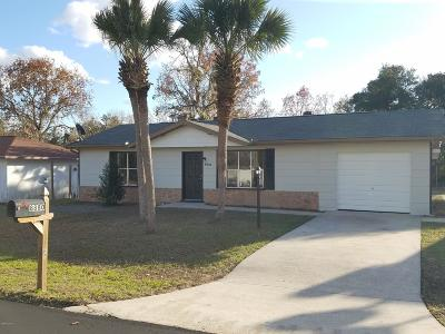 Ocala Single Family Home For Sale: 8880 SE 87th Terrace