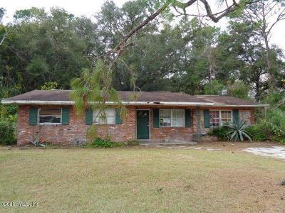 Ocala Single Family Home For Sale: 3416 NE 22nd Court