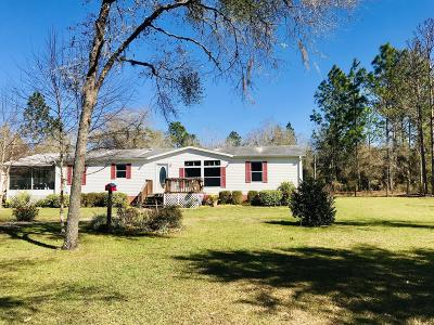 Levy County Single Family Home For Sale: 12831 NE 16th Street