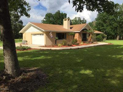 Micanopy Single Family Home For Sale: 1728 SW Wacahoota Road