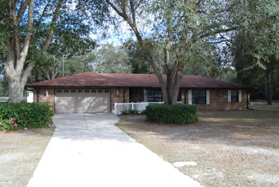 Dunnellon Single Family Home For Sale: 11595 SW 134th Court