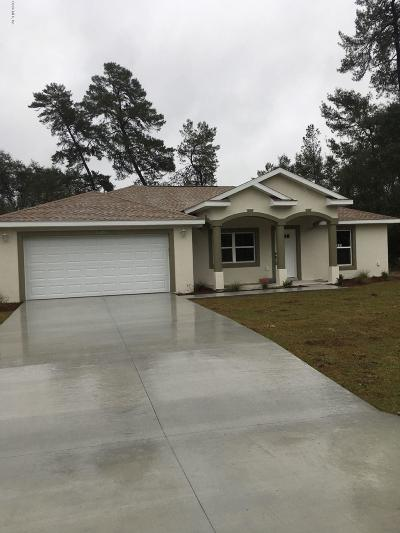 Marion Oaks North, Marion Oaks South, Marion Oaks Rnc Single Family Home For Sale: 16811 SW 39th Circle