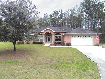 Ocala Single Family Home For Sale: 7311 SW 133rd Loop