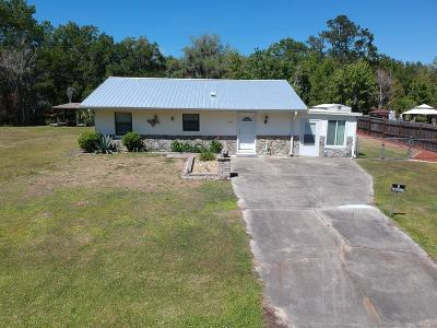 Dunnellon Single Family Home For Sale: 11791 SE 197th Place