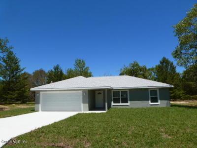 Ocklawaha Single Family Home Pending: 125 Fisher Way Drive