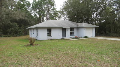 Dunnellon Single Family Home For Sale: 5671 SW 206th Avenue