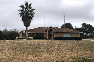 Marion Oaks North, Marion Oaks South, Marion Oaks Rnc Single Family Home For Sale: 4681 SW 155 Place Road