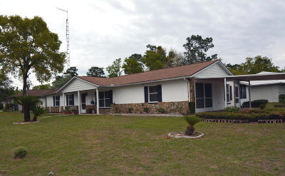 Ocala Single Family Home For Sale: 25 Pine Run