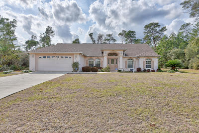 Marion Oaks North, Marion Oaks Rnc, Marion Oaks South Single Family Home For Sale: 17546 SW 36th Ave Road