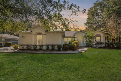 Rainbow Spgs Wd Single Family Home For Sale: 8730 SW 205th Circle