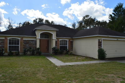 Ocala Single Family Home For Sale: 3874 SW 131st Place Road