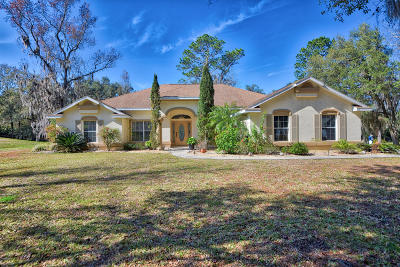 Ocala Single Family Home For Sale: 5248 NW 82nd Court