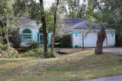 Dunnellon Single Family Home For Sale: 9898 SW 189th Circle