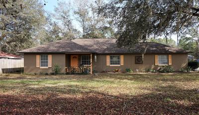 Ocala Single Family Home For Sale: 2421 SE 64 Avenue Road