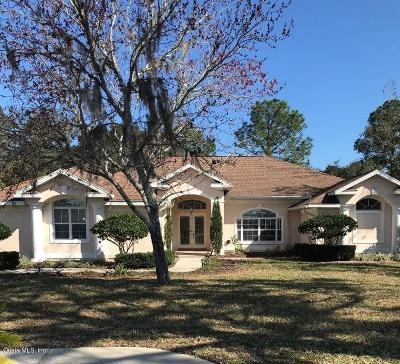 Ocala Single Family Home For Sale: 83 Golf View Drive