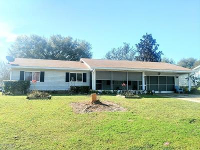 Spruce Creek Single Family Home Sold: 6264 SW 103rd Street Road