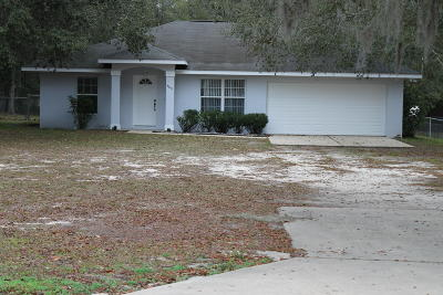 Belleview FL Single Family Home For Sale: $189,000