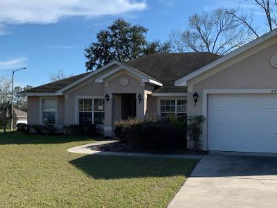 Ocala Single Family Home For Sale: 6872 SE 12 Pl