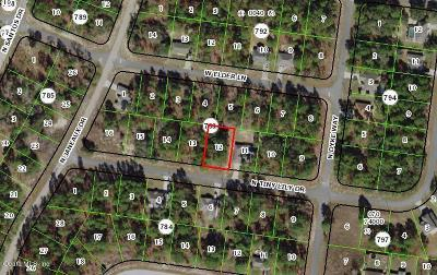 Citrus County Residential Lots & Land For Sale: 7944 N Tiny Lily Drive