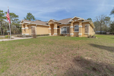 Dunnellon Single Family Home For Sale: 9517 SW 125th Court Road