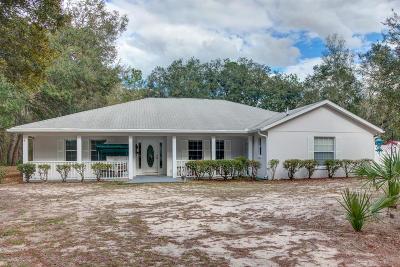 Ocala Single Family Home For Sale: 4175 SW 95th Street