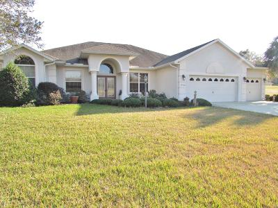 Dunnellon Single Family Home For Sale: 19400 SW 79 Street
