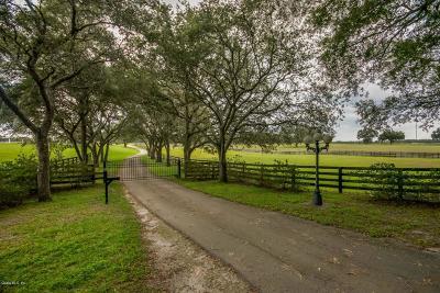 Morriston Farm For Sale: 19350 SE 52nd Place