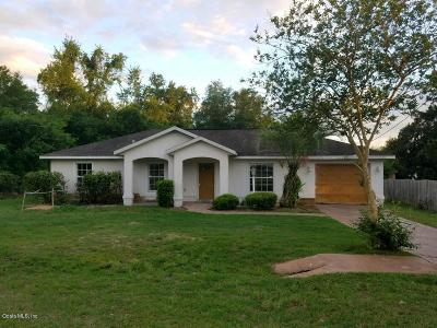 Belleview FL Single Family Home For Auction: $132,900