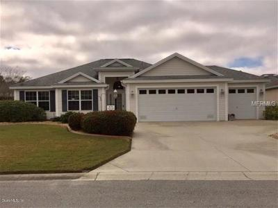 The Villages Single Family Home For Sale: 470 Cokesbury Drive